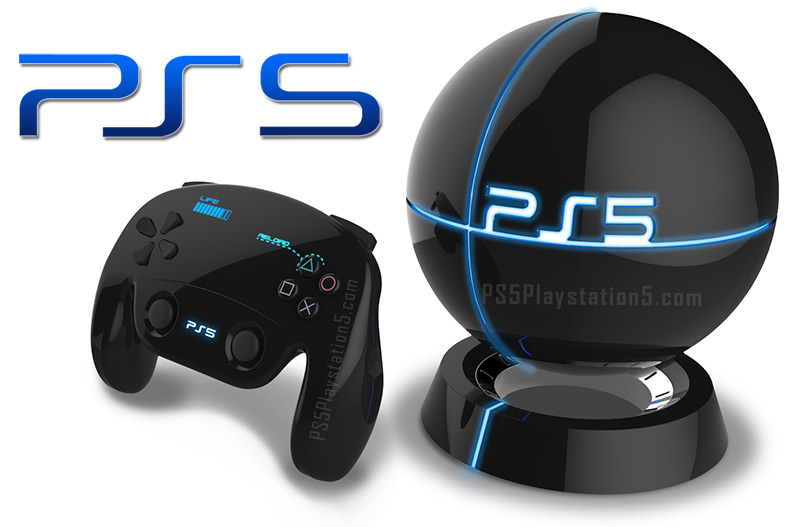 PS5 and Dualshock 5 Controller