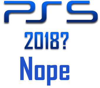 PS5 in 2018?